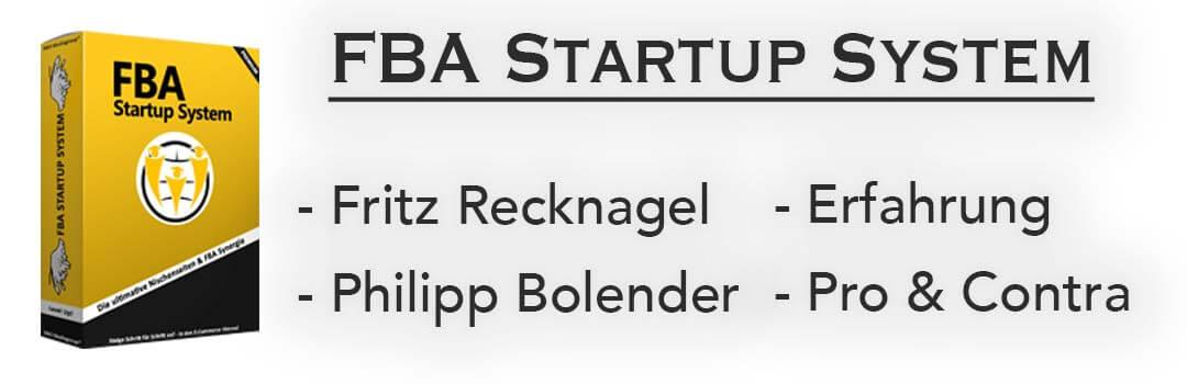 Testbericht & Review zum FBA Startup System von Fritz Recknagel & Nischen Nerd