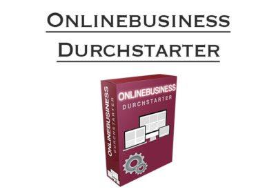 Onlinebusiness Durchstarter
