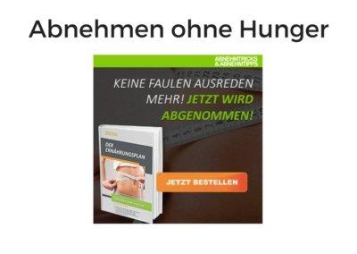 Abnehmen ohne Hunger von Benjamin Oltmann
