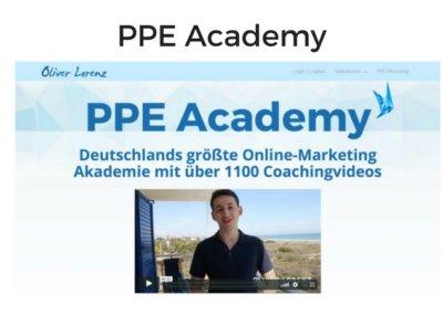PPE Academy von Oliver Lorenz