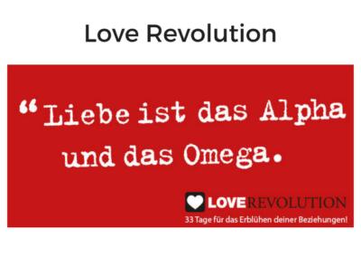 Love Revolution von Veit Lindau