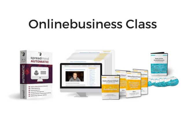 Onlinebusiness Class von Mario Schneider Erfahrungen