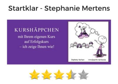 Startklar von Stephanie Mertens