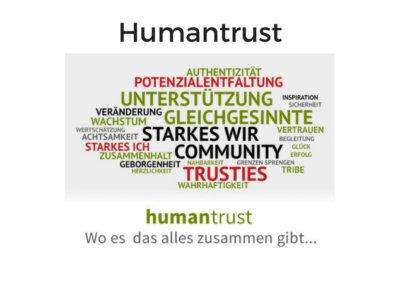 Humantrust von Veit Lindau & Dr. Rüdiger Dahlke
