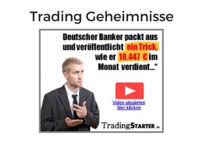 Trading Geheimnisse von Frédéric Ebner