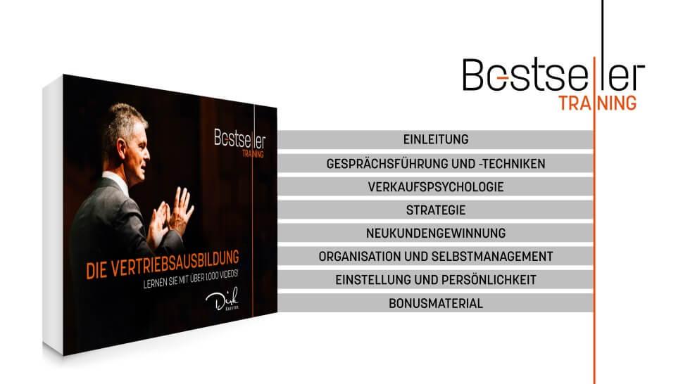 Bestseller Training Dirk Kreuter Inhalte