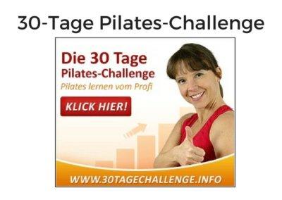 30 Tage Pilates Challenge von Kerstin Bredehorn