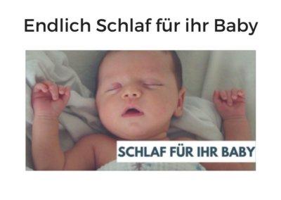 Endlich Schlaf für Ihr Baby von Susanne