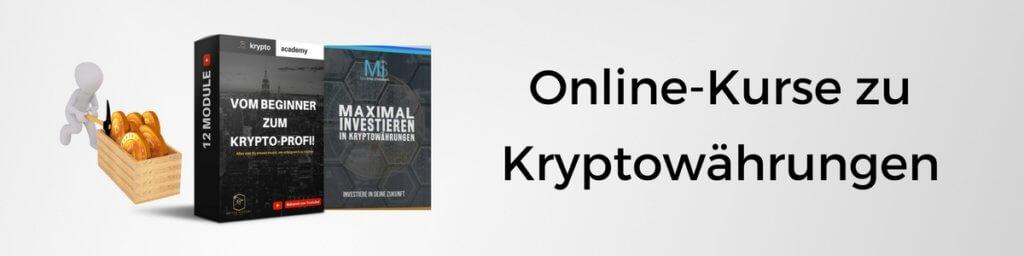 Onlinekurse & Infoprodukte zu Kryptowährungen, Bitcoin & Blockchain