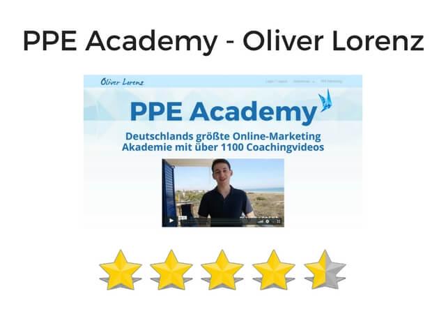 PPE Academy von Oliver Lorenz Testbericht