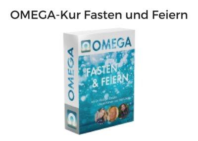 OMEGA-Kur Fasten und Feiern von Dr. Rüdiger Dahlke, Ursula Karven, Veit Lindau