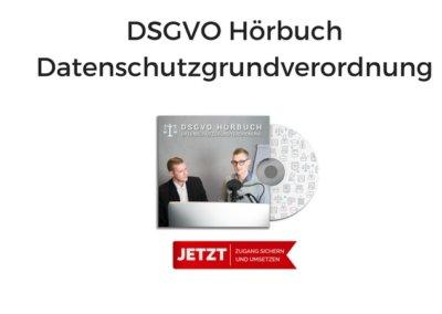 DSGVO – Datenschutzgrundverordnung Hörbuch von Andreas Schwarzlmüller