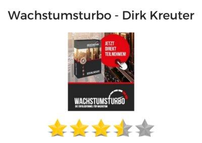 Weiterleitung Wachstumsturbo von Dirk Kreuter